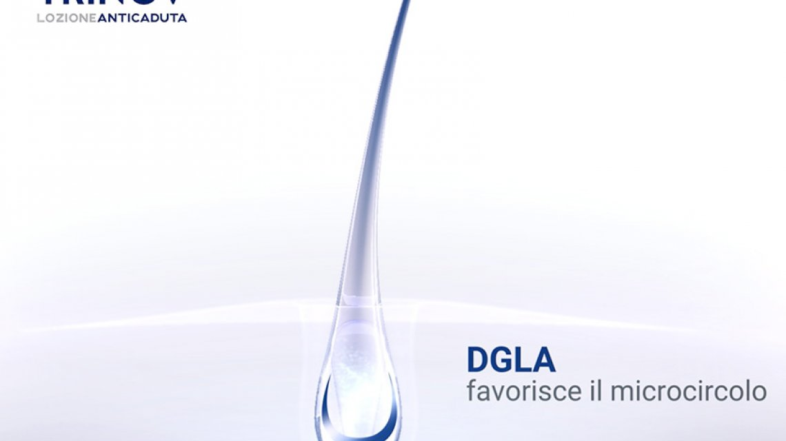 The role of DGLA in Trinov hair loss lotion