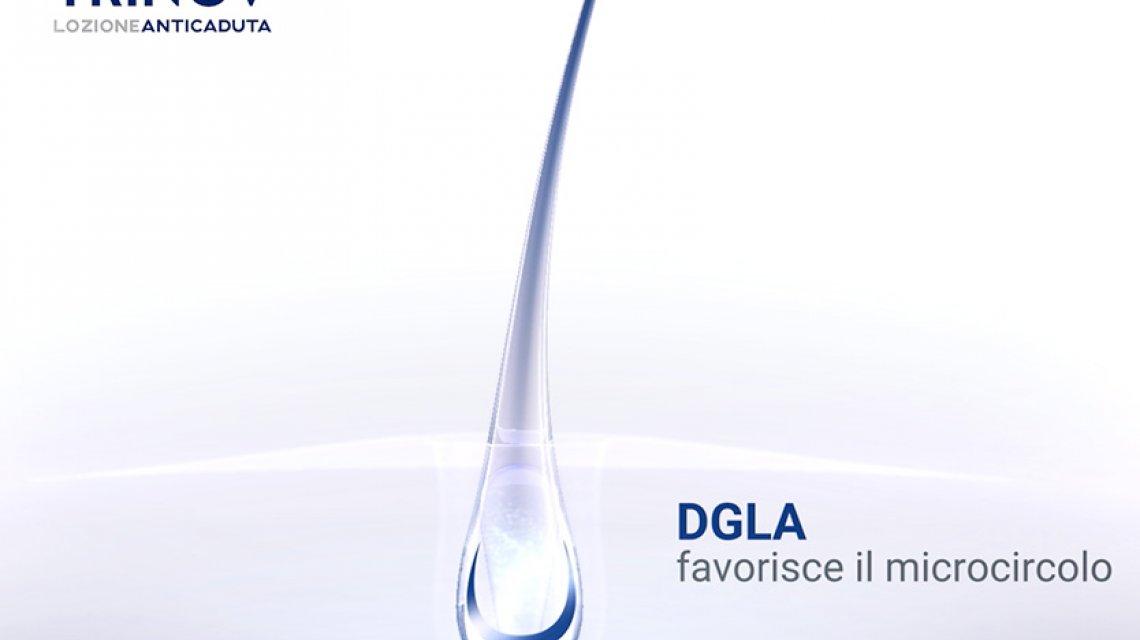 Il DGLA nella lozione anticaduta Trinov