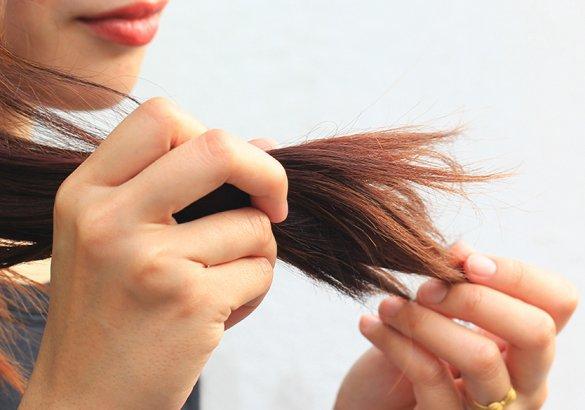 Alterazioni della struttura del capello: le doppie punte