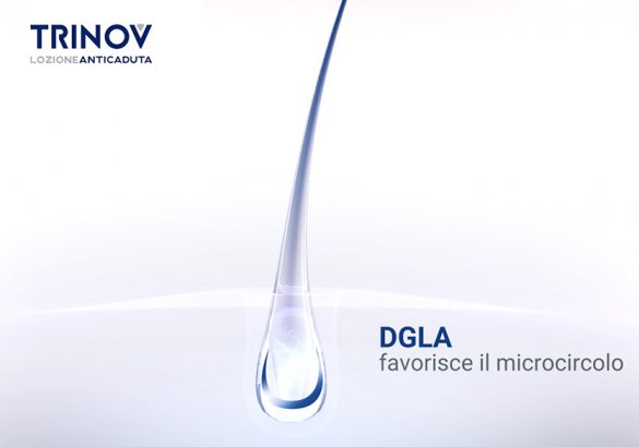 DGLA, the fatty acid that forms the basis of the Trinov hair loss lotion